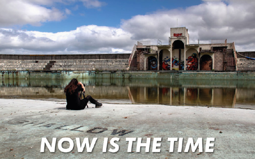 Now is time - Grange over sands lido