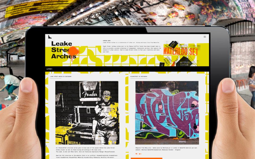 Leake Street Arches