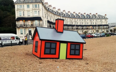 Can creative minds and community engagement make places desirable to be and visit once more?